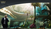 Assassin's Creed IV Black Flag Abstergo Entertainment interior 1 Concept Art by EddieBennun