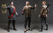 Laurent Sauvage NPC models - Assassin's Creed Brotherhood