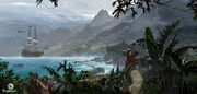 Assassin's Creed IV Black Flag concept art 23