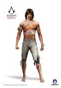 ACRG Shirtless Shay - Concept Art