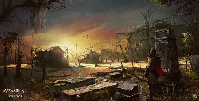 File:ASSASSIN'S CREED 3 - LIBERATION . Smugglers area. Cemetery by nachoyague.jpg