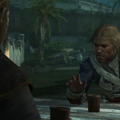 愛德華告訴施蒂德關於觀測所的事情