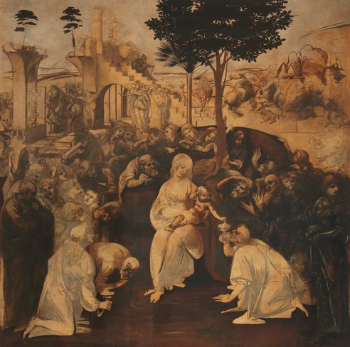 File:Adoration of the Magi - By Leonardo.png