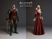 Laurent Sauvage Character models 2 - Assassin's Creed Brotherhood