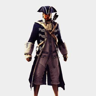 天鹰船长服装宣传画
