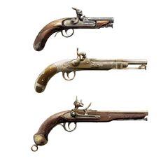刺客信条4:黑旗中的手枪原画