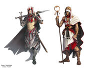 Assassin's creed characters (French comics books) by Krystel