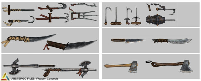 File:Assassin's Creed 3 Multiplayer Weapon Design 02 by trebor7.jpg