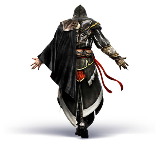 File:AC2 Ezio armor of Altair back render by Michel Thibault.png