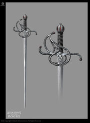ACRG Spanish Sword - Concept Art