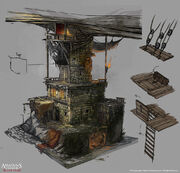 Assassin's Creed IV Black Flag concept art 19 by Rez