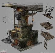 Assassin's Creed IV Black Flag concept art 19 by Rez