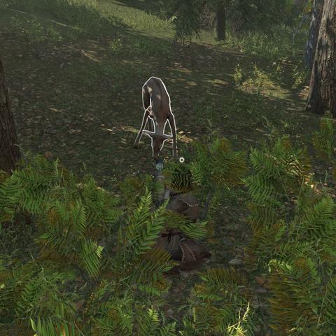 Ratonhnhaké:ton stalking a deer