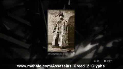 Assassin's Creed 2 Walkthrough - Glyph Puzzle 8 HD