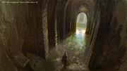 AC2 Monteriggioni Catacomb Entrance - Concept Art 2