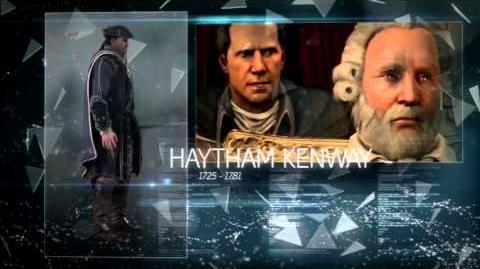 Berg's Inspiration - Haytham Kenway