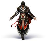 AC2 Ezio armor of Altair front render by Michel Thibault