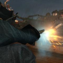 毕德尔向一个火药桶开枪