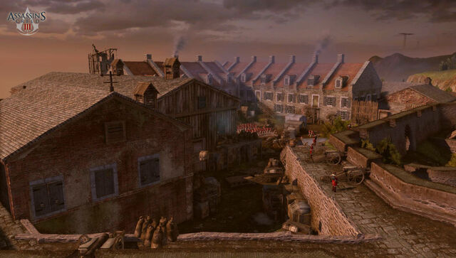 File:Assassins Creed 3 - Fort Wolcott by neilvk.jpg