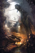 ACU Catacombs Exposed - Concept Art