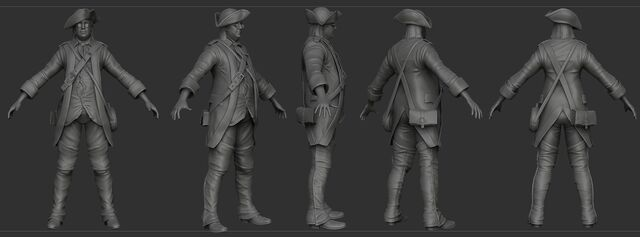 File:AC3 Benjamin Franklin Disguise ZBrush Model.jpg