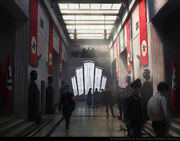 ACU Quartier General Gestapo - Concept Art