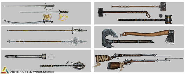 File:Assassin's Creed 3 Multiplayer Weapon Design 03 by trebor7.jpg