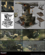 Assassin's Creed IV Black Flag concept art 20 by Rez