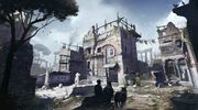 Rome's Antique District concept art
