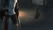 An elderly Altair faces Abbas