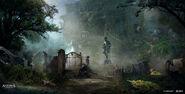 Assassin's Creed 4 - Black Flag concept art 11 by janurschel