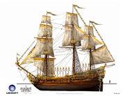 Assassin's Creed IV Black Flag -Ship- Royal Convoy - Treasure Ship by max qin