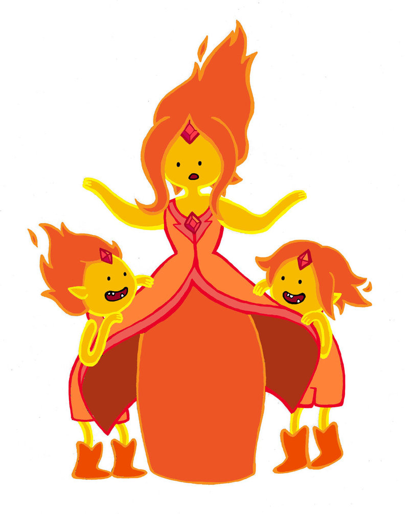 Image - Flame princess and flame princes by kickmeplease ...