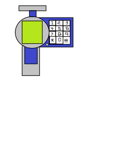 Watch Phone X-1221