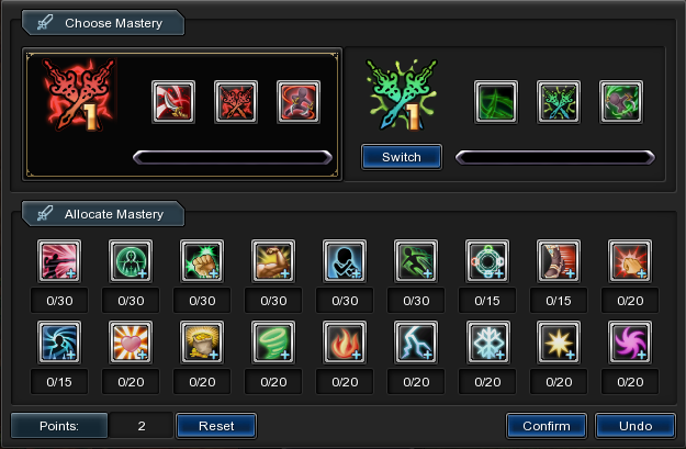 Weapon Mastery-duelist