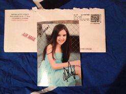 Aubrey k miller autograph