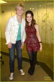 Ross Lynch and Laura Marano - Sirius XM (3)