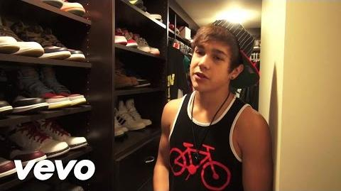Austin Mahone - Austin Shows Off His Sneaker Collection (VEVO LIFT)