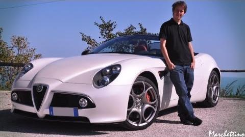 Marchettino a day with the Alfa 8C Spider