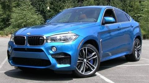 2015 BMW X6 M Start Up, Test Drive, and In Depth Review
