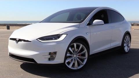 2016 Tesla Model X P90D Signature w Ludicrous Mode - Power Up, Test Drive & In Depth Review