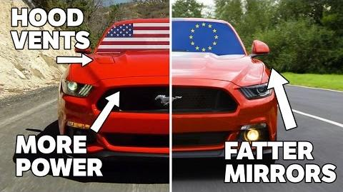 10 Differences Between US And European Mustangs