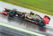 2012 British GP - Lotus