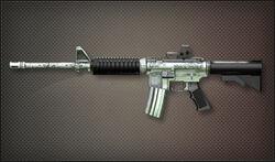 AR M4A1 Chrome