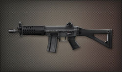 Weapon Pointman SG552