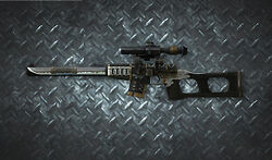 Weapon Sniper VSS Katana