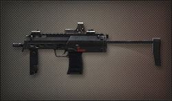 Weapon Pointman MP7A1