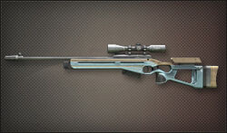 Weapon Sniper SV98 Silver Arrow