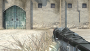 AKS-74U Black Snake crouch
