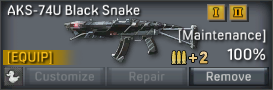 File:AKS-74U Black Snake uncustomizable.png